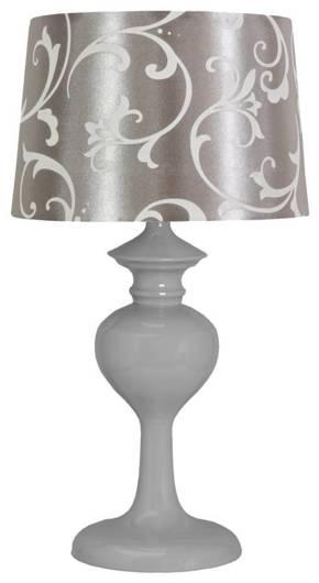 Lampa Stołowa Candellux Berkane 41-64424 E14 Szary/Szary