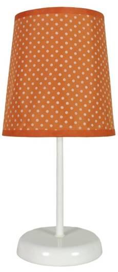 Lampa Stołowa Candellux Gala 41-98286 E14 Pomarańczowa W Kropki