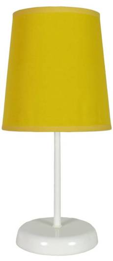 Lampa Stołowa Candellux Gala 41-98552 E14 Żółta