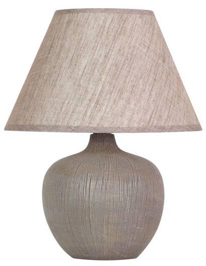 Lampa Stołowa Gabinetowa Candellux Crobi 41-34908 E14 Brązowy
