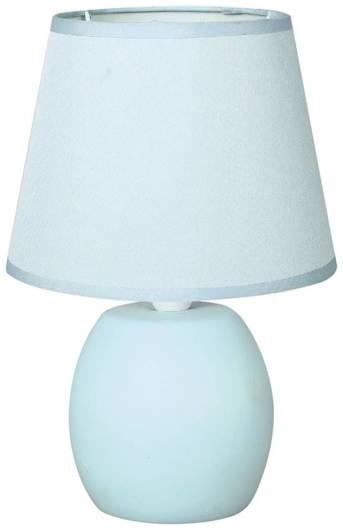 Lampa Stołowa Gabinetowa Candellux Tomaso 41-26798 E14 Błękitna
