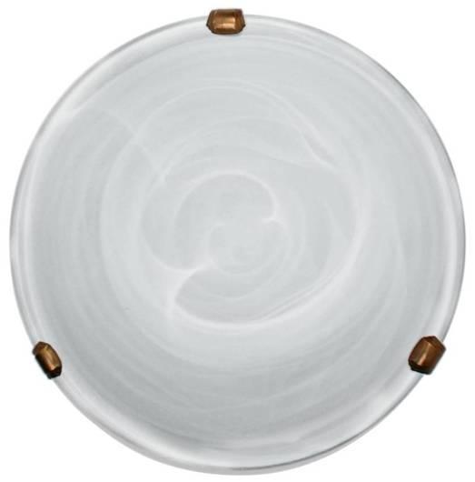 Lampa Sufitowa Candellux Duna 13-38701 Plafon Biały Uchwyt Patyna