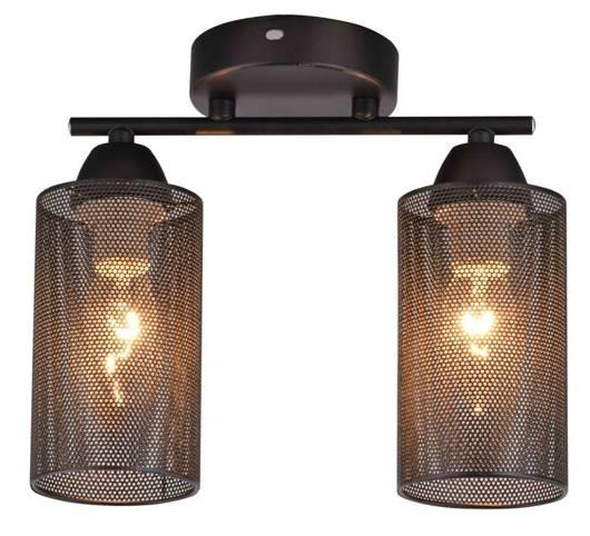 Lampa Sufitowa Candellux Indira 32-58638 E14 Czarny