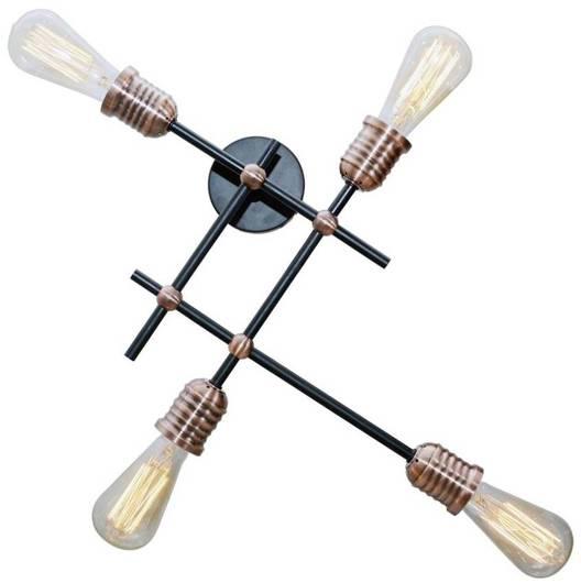 Lampa Sufitowa Candellux Kirimu 34-66909 E27 Czarny
