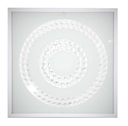 Lampa Sufitowa Candellux Lux 10-60662 Plafon 16W Led 6500K Biały Podwójny Ring