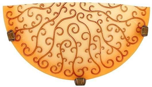 Lampa Sufitowa Candellux Oleander 11-04867 Plafon1/2 Żółty E27