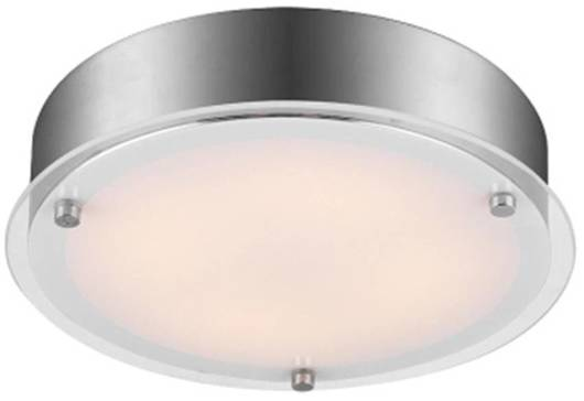 Lampa Sufitowa Candellux Ronda 13-30245 Plafon Led Satyna