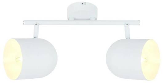 Lampa listwa ścienna/sufitowa biała 2xE27 Azuro 92-63250