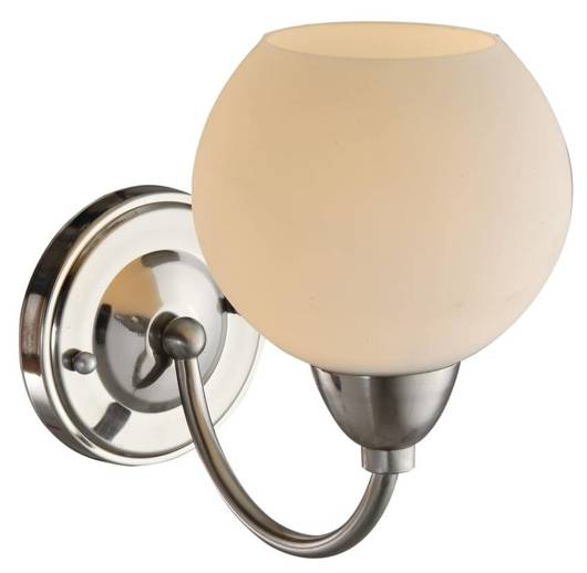 Lampa ścienna kinkiet 1X60W E27 satyna TOBAGO 21-25487