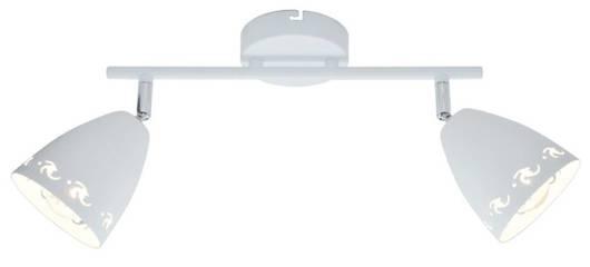 Lampa ścienna kinkiet 2X40W E14 biały mat COTY 92-67128