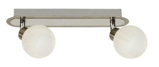 Lampa ścienna listwa 2X40W G9 satyna chrom ALABASTER 92-07018
