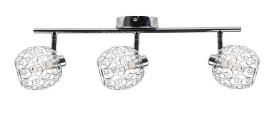 Lampa ścienna listwa 3X40W G9 chrom HORUS 93-19158