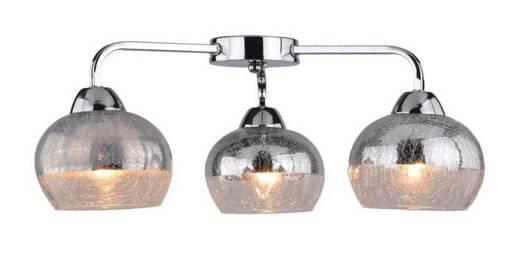 Lampa sufitowa 3X60W E27 chrom CROMINA AMPLA 98-55651