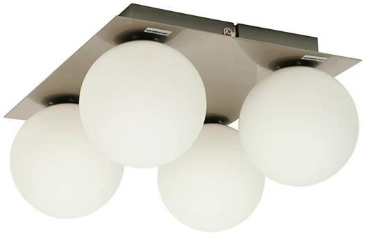 Lampa sufitowa plafon 4XG9 40W 230V nikiel mat ETIUDA 98-82094