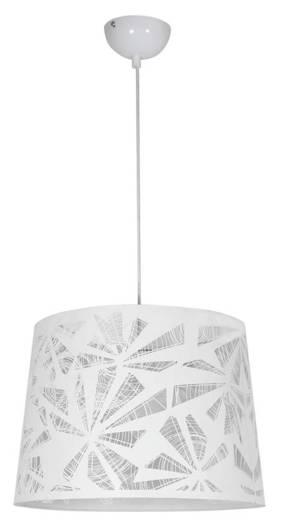 Lampa sufitowa wisząca 1X60W E27 biały ORLANDO 31-49131
