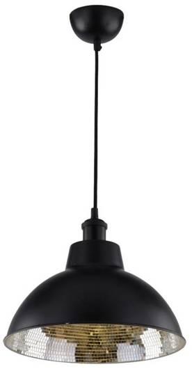 Lampa sufitowa wisząca 1X60W E27 czarny SCRIMI 31-56658