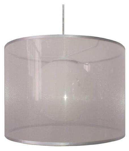 Lampa sufitowa wisząca 1X60W E27 srebrny CHICAGO 31-24916