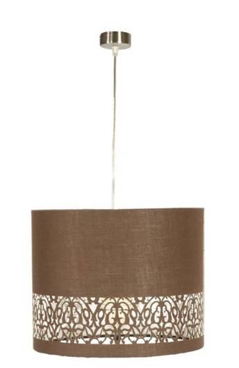 Lampa sufitowa wisząca 1X60W brąz ARABESCA 31-19519