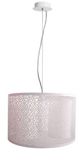 Lampa sufitowa wisząca 3X40W E14 biały MADRAS 33-27290