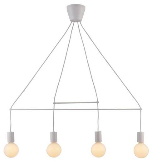 Lampa wisząca biała matowa 4x40W regulowana E27 Alto Candellux 34-70906