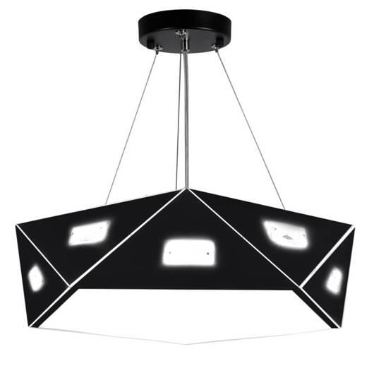 Lampa wisząca czarna pięciokątna regulowana 3x40W Nemezis Candellux 31-59130