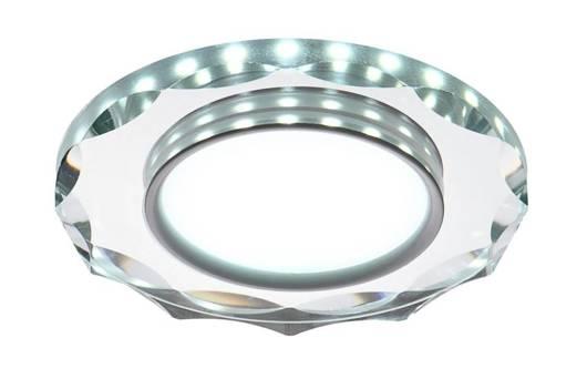 Oprawa Stropowa Oczko Candellux Ssp-25 Ch/Tr+Wh 8W Led 230V Ring Led Biały