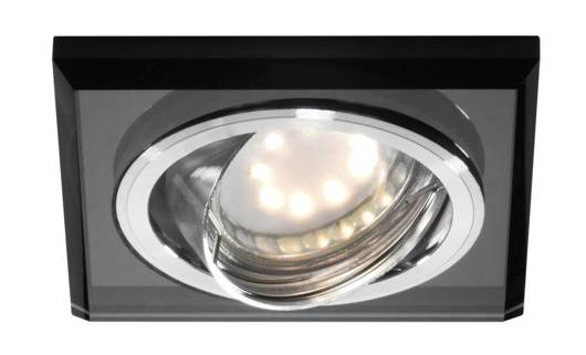 Oprawa stropowa czarna szklana kwadrat oczko SSU-13 Candellux 2263809