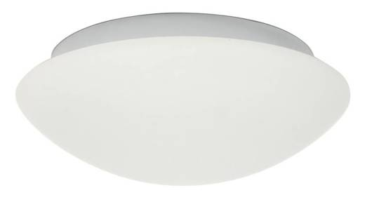 Plafon biały szklany do łazienki E27 60W 28cm Nina Candellux 13-74235